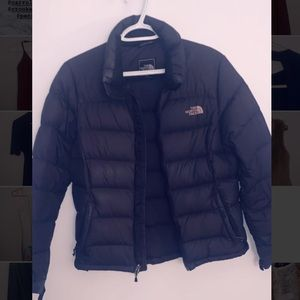 North Face down puffer winter coat.